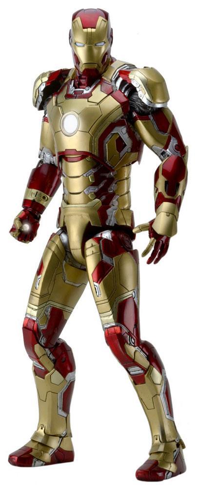 Iron Man 3 Actionfigur 1/4 Iron Man Mark XLII 46 cm --- DAMAGED PACKAGING