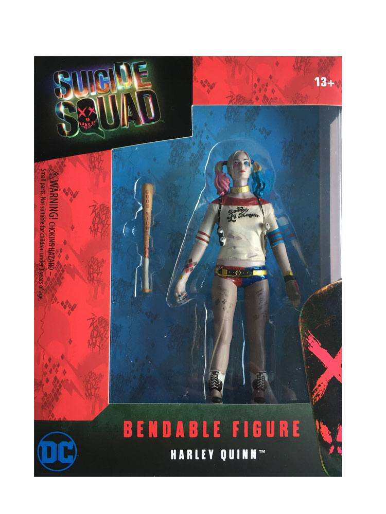 Suicide Squad Bendable Figure Harley Quinn 14 cm