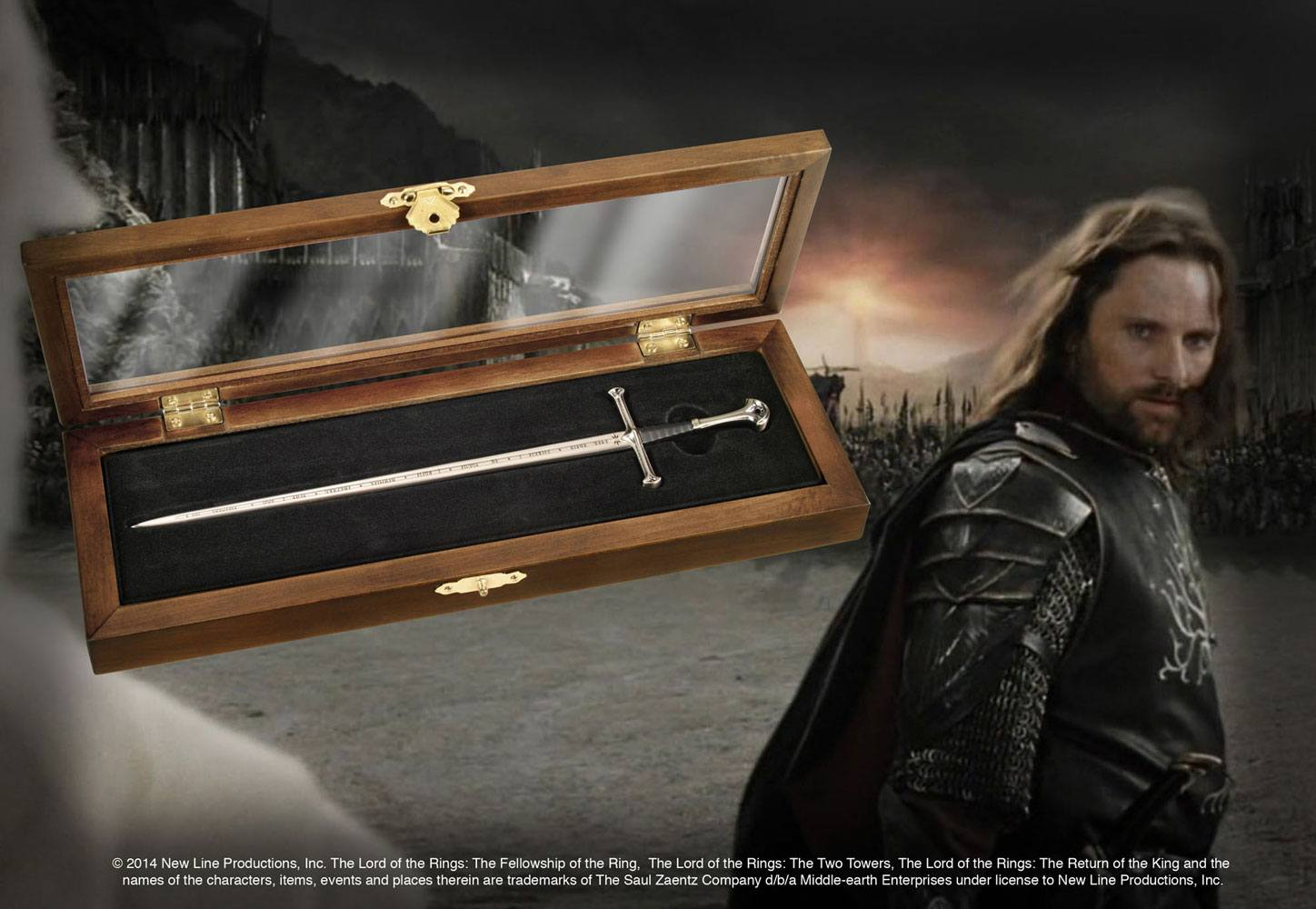 Lord of the Rings Letter Opener Anduril --- DAMAGED PACKAGING