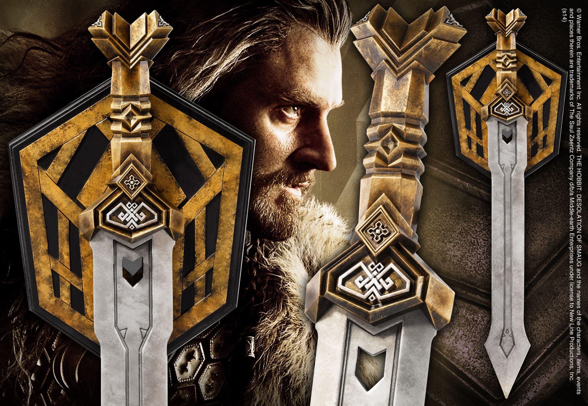 The Hobbit Replica 1/1 Thorin's Dwarven Sword 72 cm