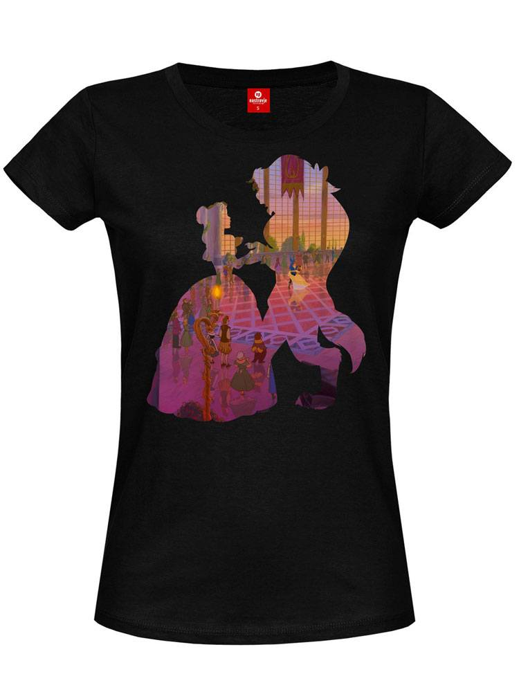Beauty and the Beast Ladies T-Shirt The Ball Girl Size XL