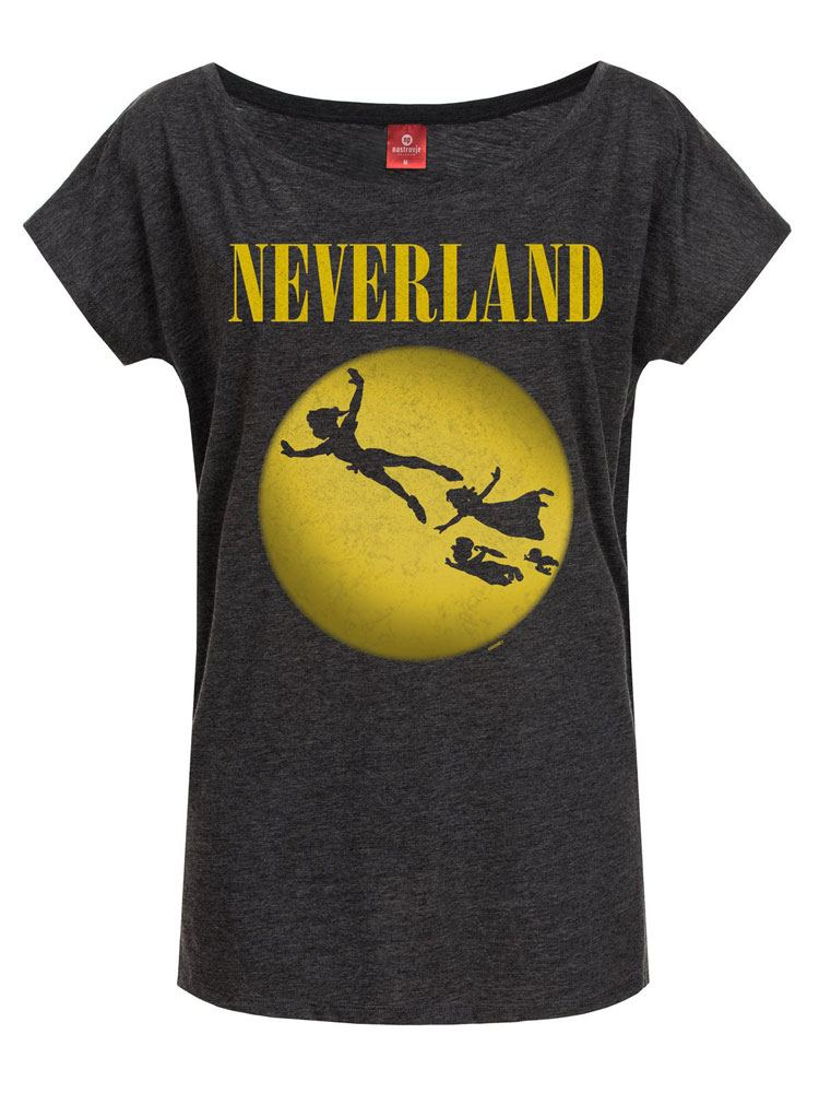 Peter Pan Ladies T-Shirt Neverland Size L