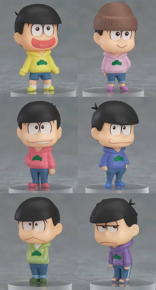 Osomatsu-san Mini Figures 4 cm Assortment (6)