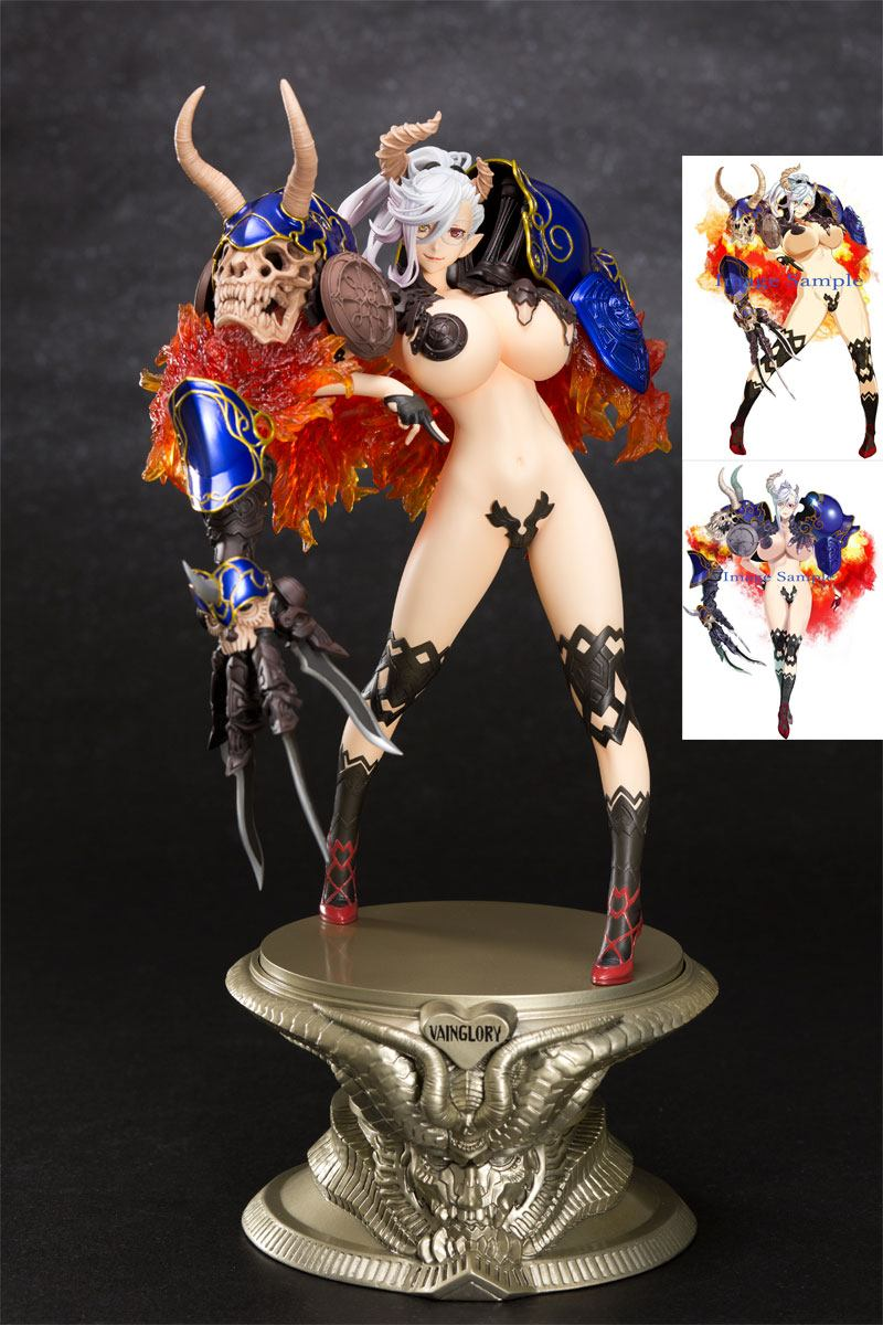 Seven Deadly Sins Vainglory Statue 1/8 Belial Uart Limited Version 24 cm