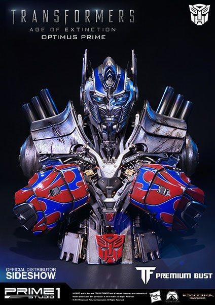 Transformers Age of Extinction Bust Optimus Prime 18 cm