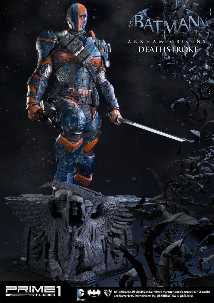 Batman Arkham Origins 1/3 Statue Deathstroke & Deathstroke Exclusive 76 cm Assortment (3)