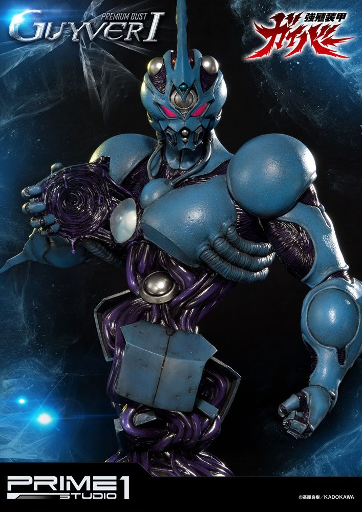 Guyver The Bioboosted Armor Premium Bust Guyver I 35 cm