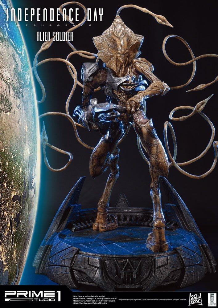 Independence Day Resurgence Statue Alien Soldier 81 cm
