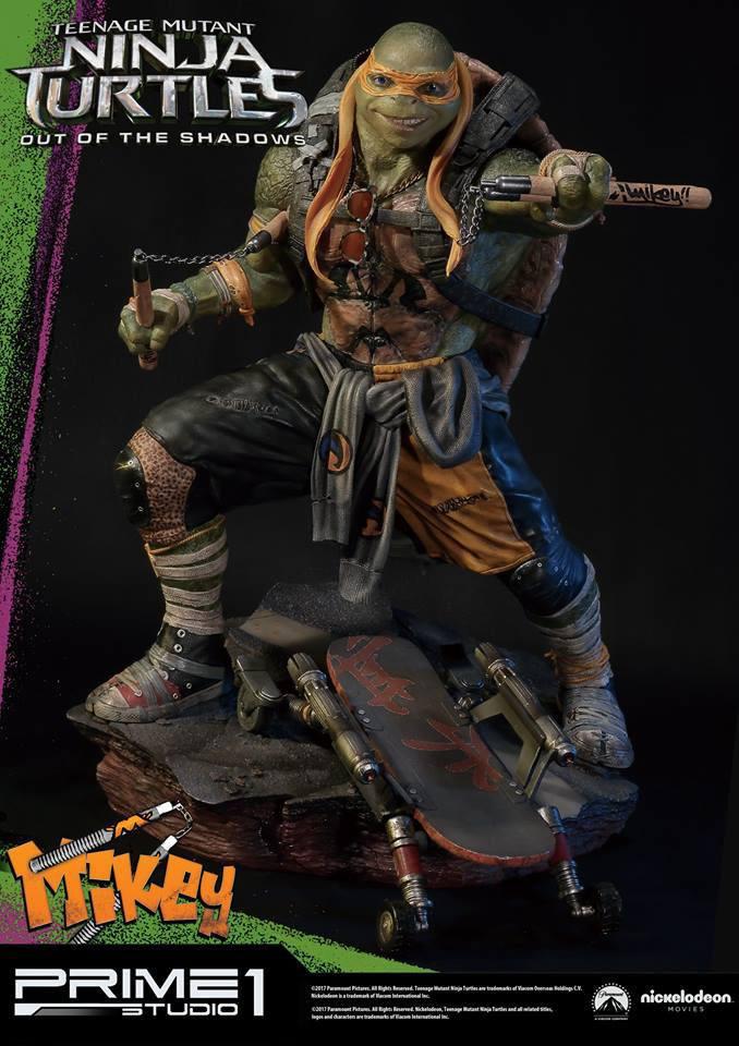 Teenage Mutant Ninja Turtles Out of the Shadows 1/4 Statue Michelangelo 43 cm