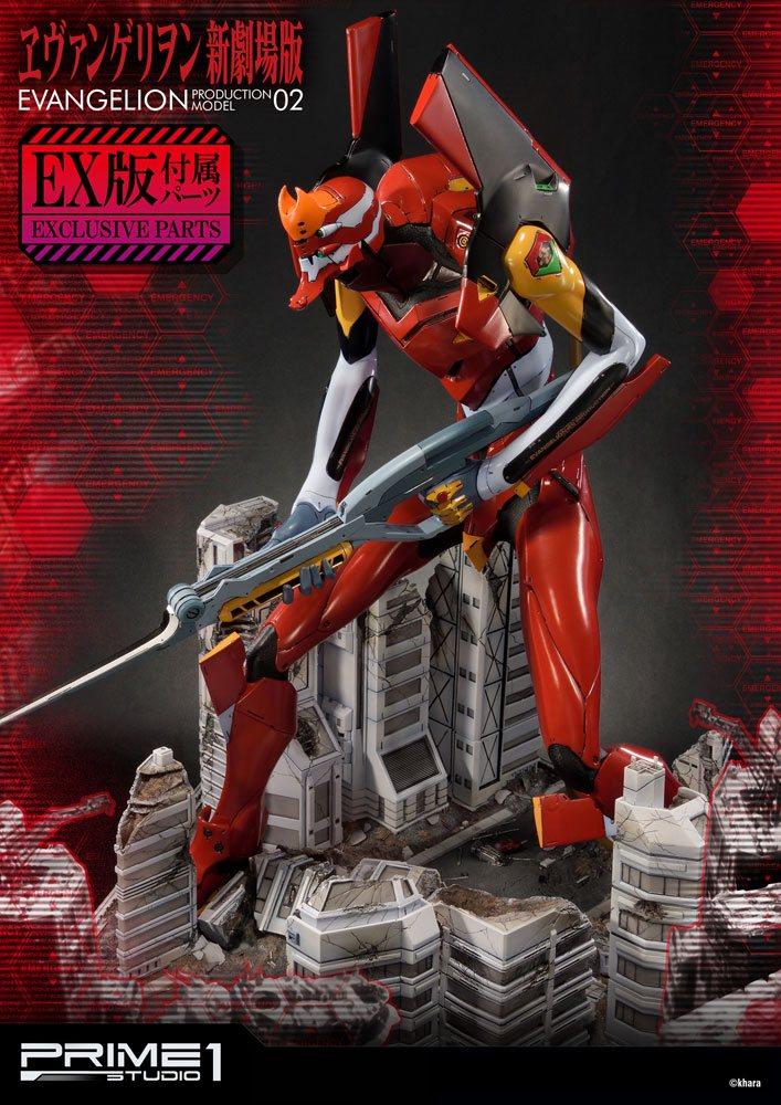 Neon Genesis Evangelion Statues EVA Production Model-02 & Exclusive 74 cm Assortment (3)