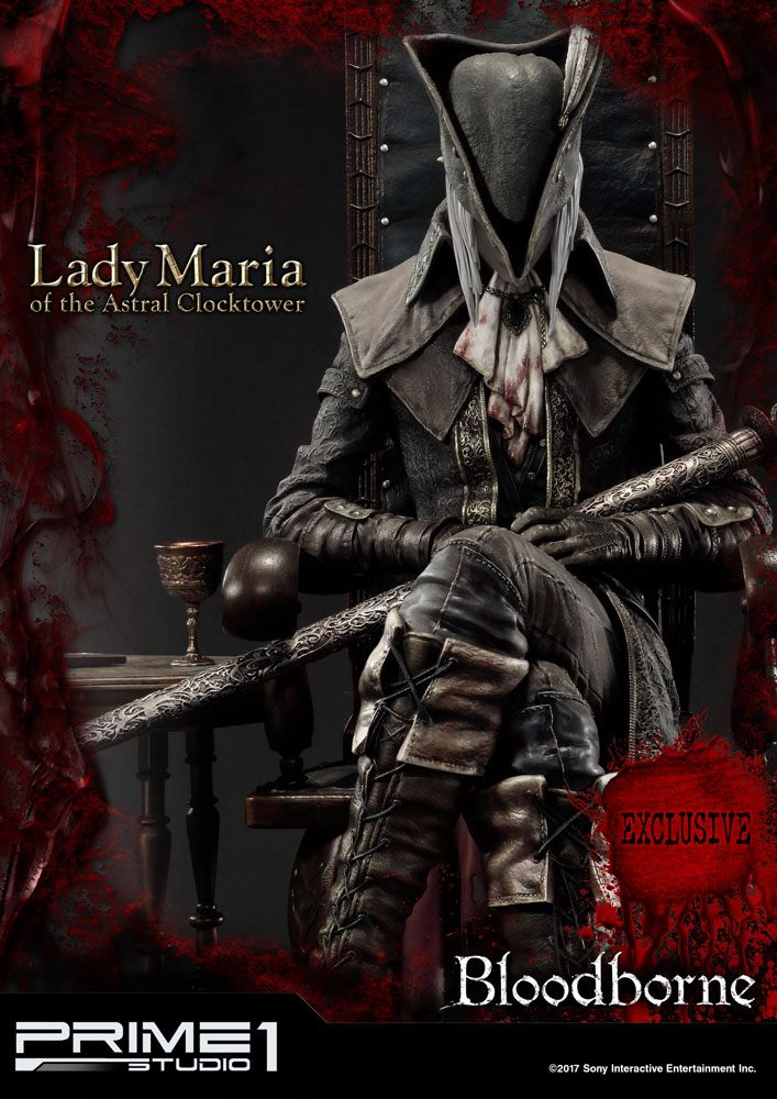 Bloodborne The Old Hunters Statue Lady Maria & Lady Maria Exclusive 51 cm Assortment (3)