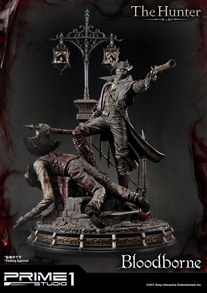 Bloodborne The Old Hunters Statue The Hunter 82 cm