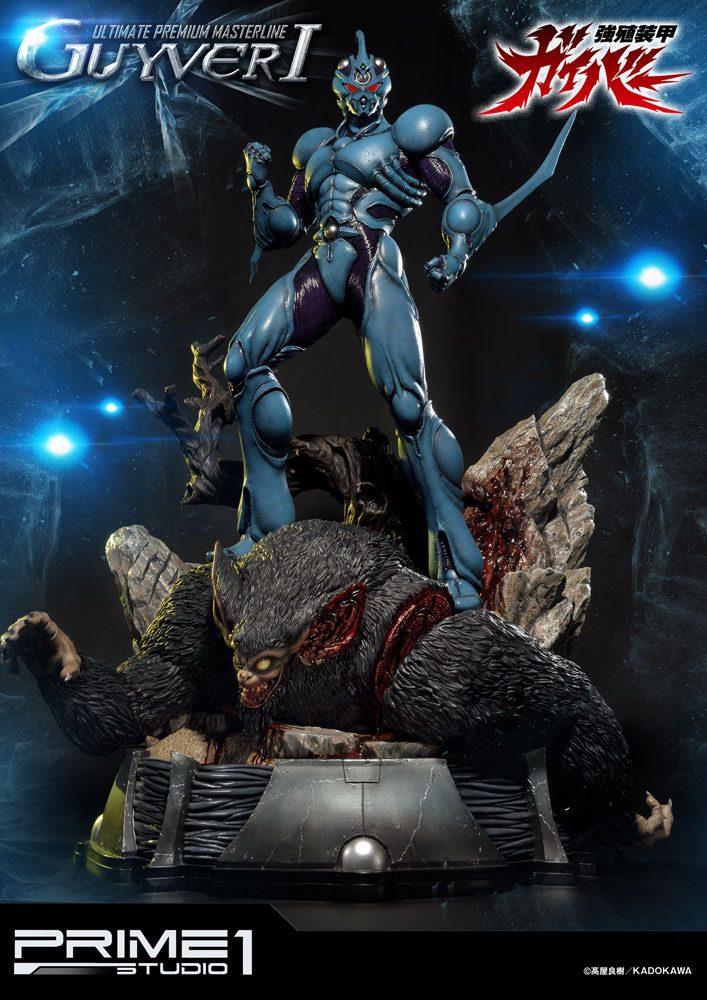 Guyver The Bioboosted Armor Statue Guyver I 82 cm