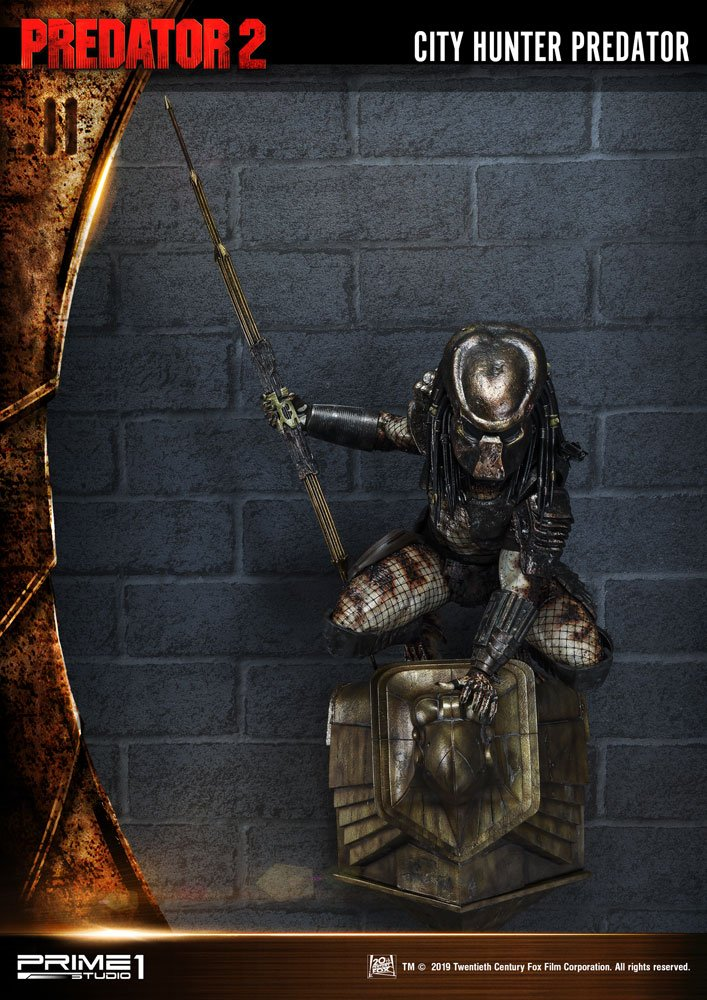 City Hunter Predator 3D Wall Art Predator 2 by Prime 1 Studio