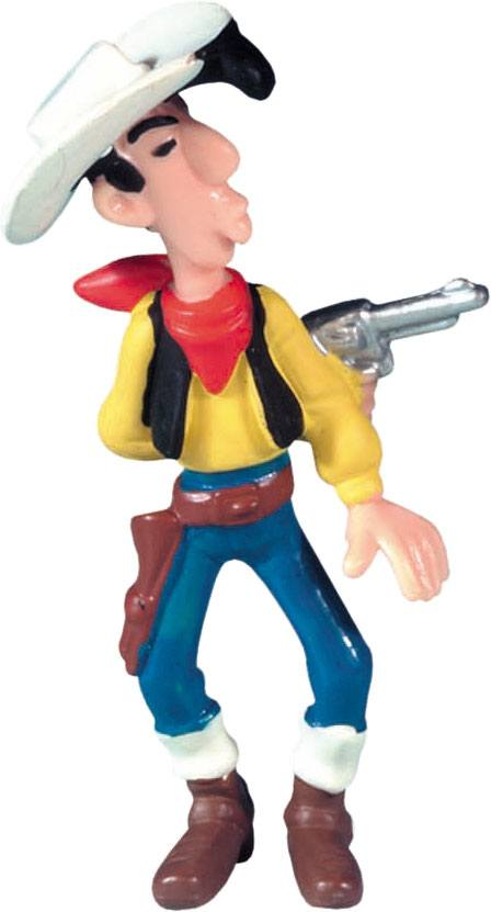 Lucky Luke Figure Lucky Luke Shooting In His Back 8 cm