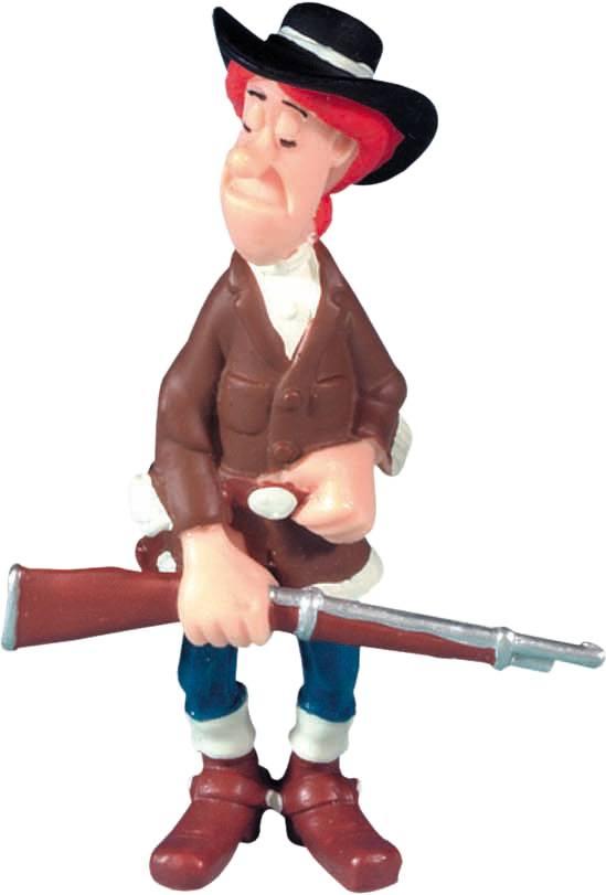 Lucky Luke Figure Calamity Jane 8 cm