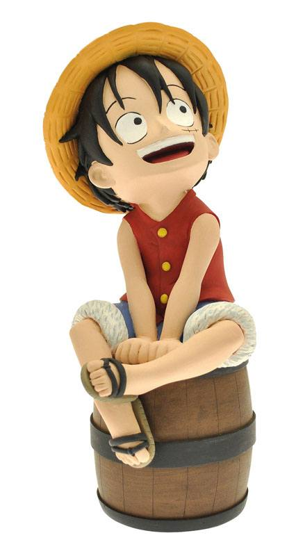 One Piece Bust Bank Luffy 17 cm