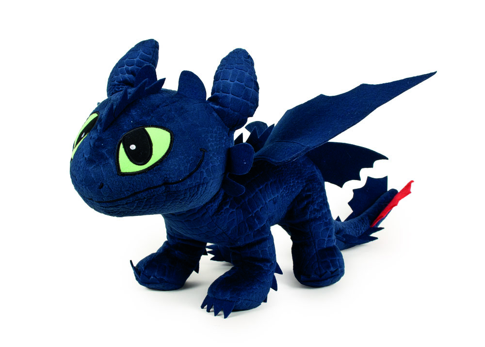 How to Train Your Dragon Plush Figure Toothless 40 cm