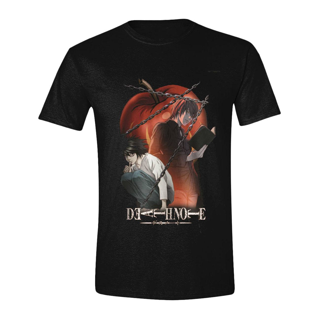 Death Note T-Shirt Chained Notes Size S