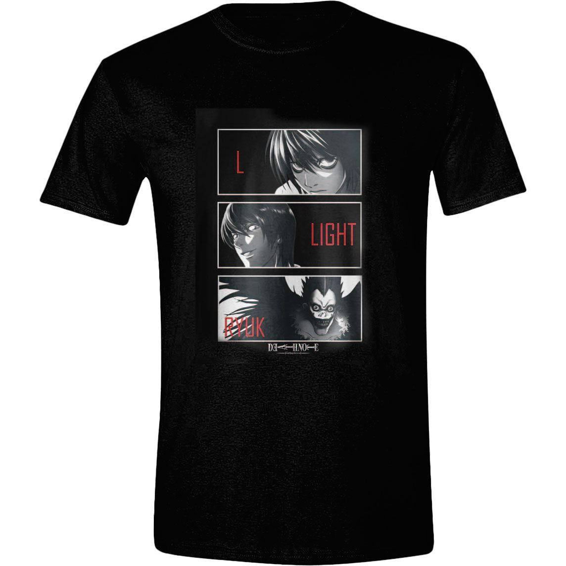 Death Note T-Shirt L, Light, Ryuk Size XL