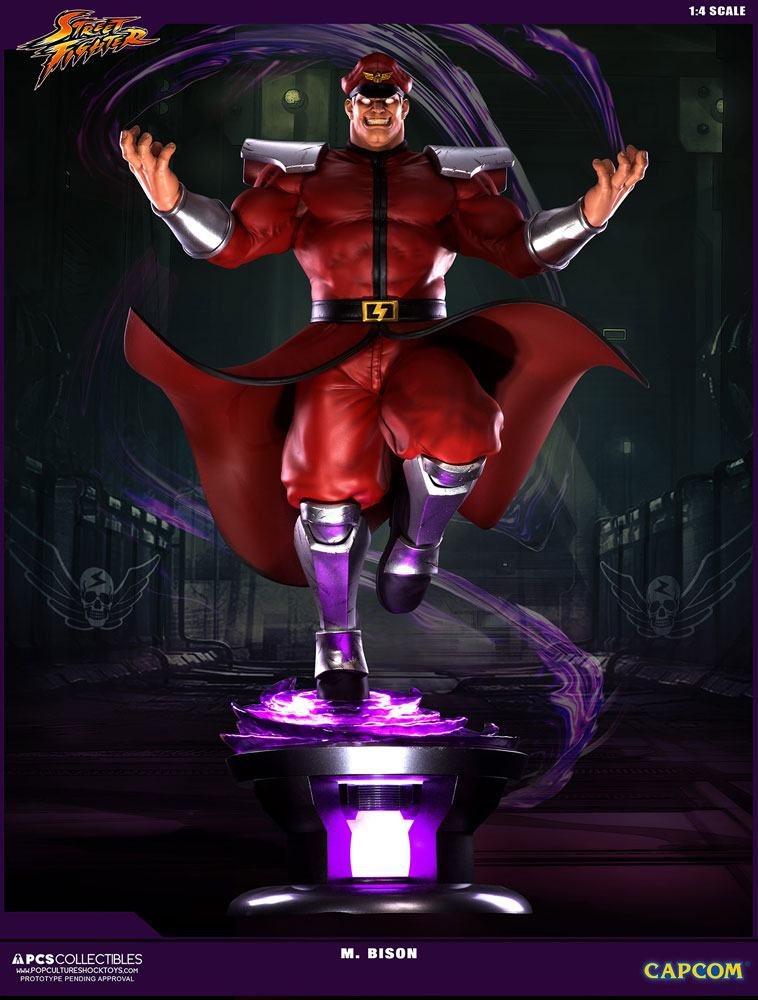 Street Fighter V Statue 1/4 M. Bison 68 cm