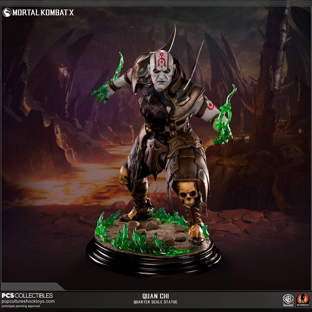 Mortal Kombat X Statue 1/4 Quan Chi 40 cm