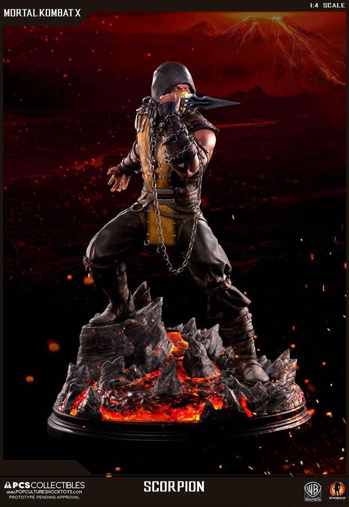 Mortal Kombat X Statue 1/4 Scorpion 54 cm
