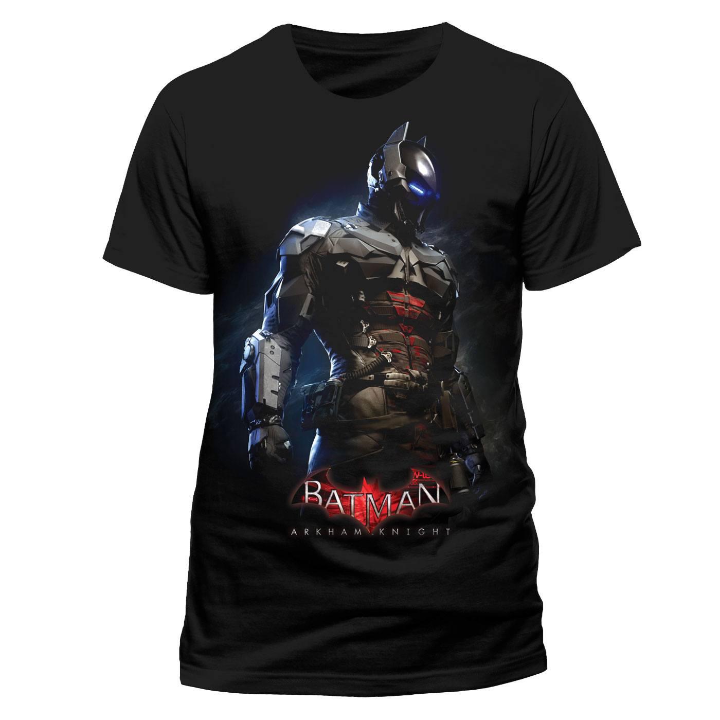 Batman Arkham Knight T-Shirt Combat Suit Size XXL