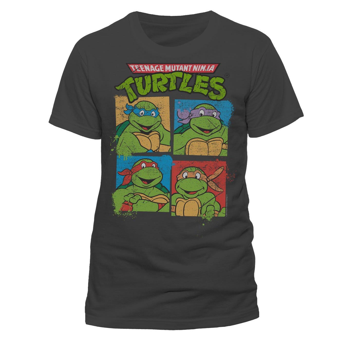 Teenage Mutant Ninja Turtles T-Shirt Group Size XL