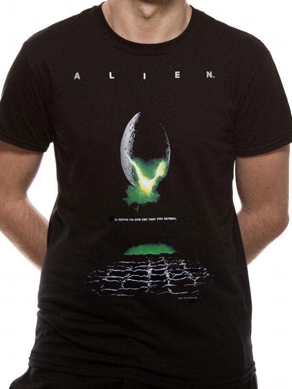 Aliens T-Shirt Poster Size XXL