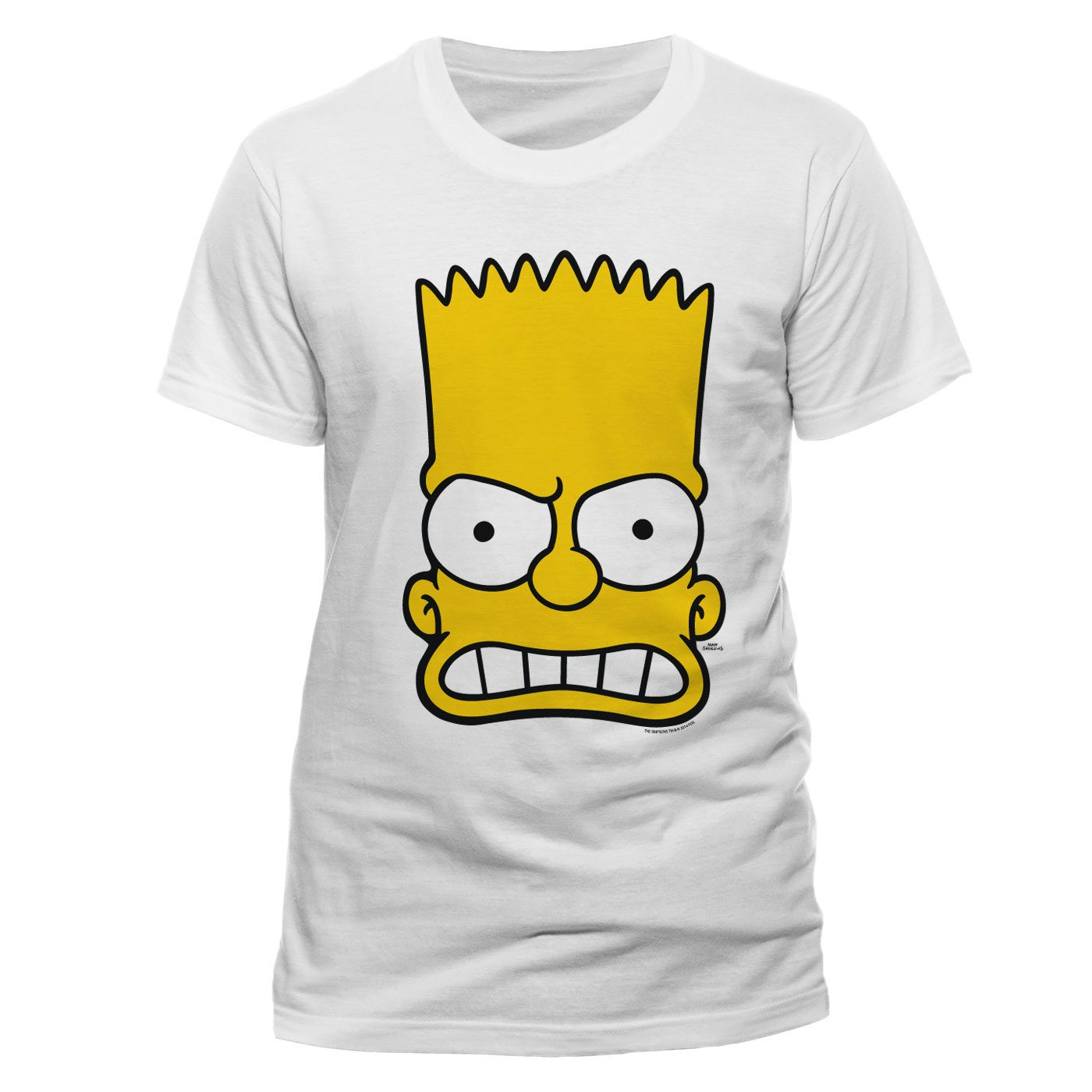 Simpsons T-Shirt Bart Face Size XL