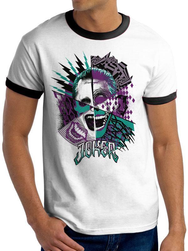 Suicide Squad T-Shirt Joker Montage Size XXL