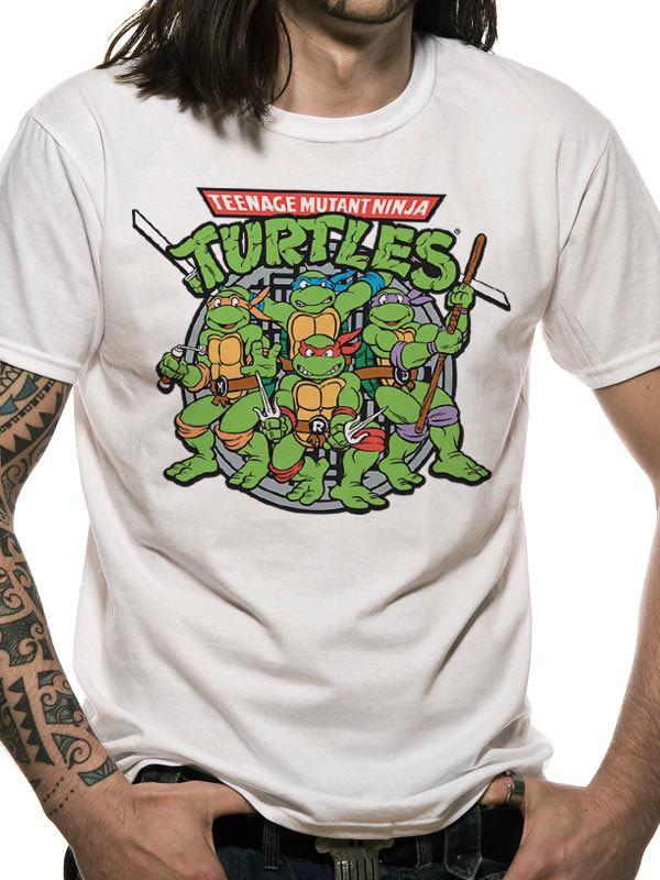 Teenage Mutant Ninja Turtles T-Shirt Group Size S