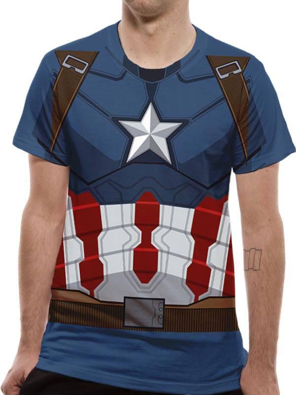 Camiseta Capitan Ámerica Primer Vengador
