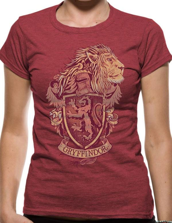 Harry Potter T-Shirt Gryffindor Size XL