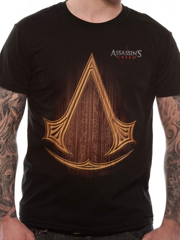 Assassin's Creed Movie T-Shirt Icon Logo Size S