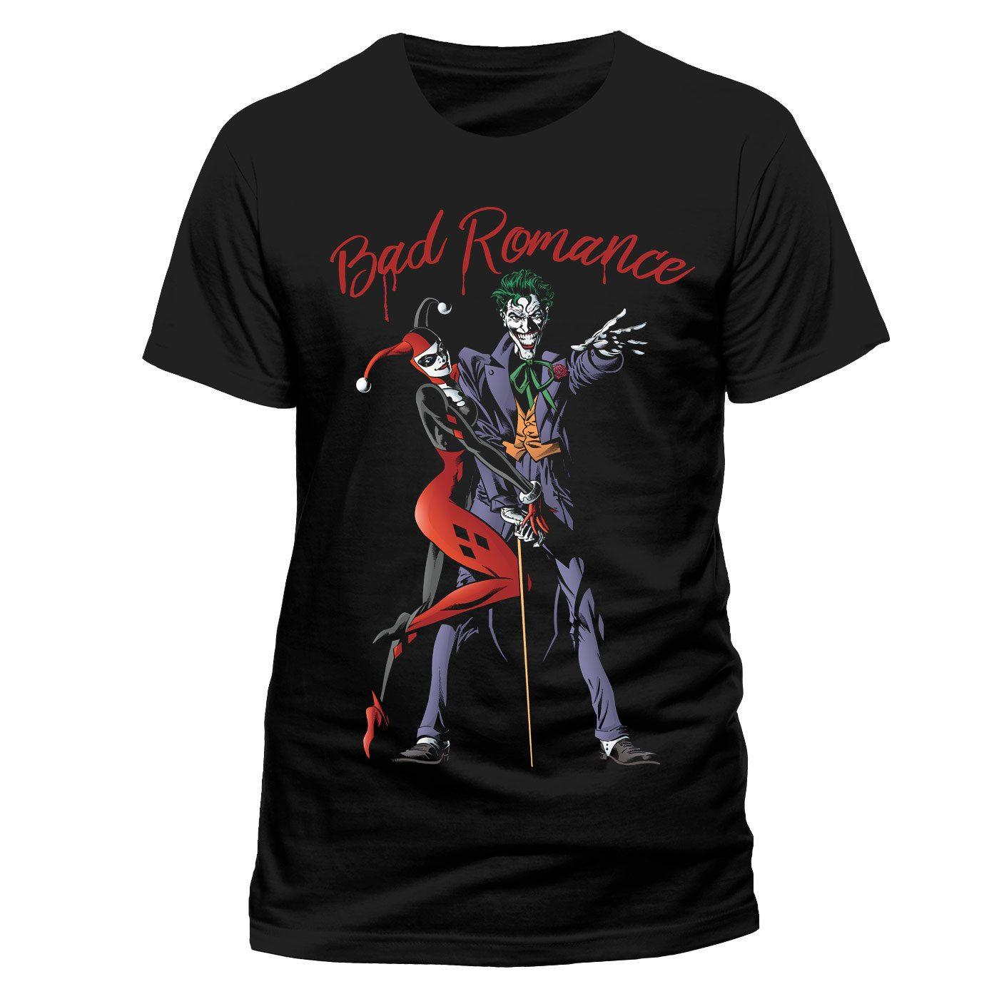 Batman T-Shirt Bad Romance Size L