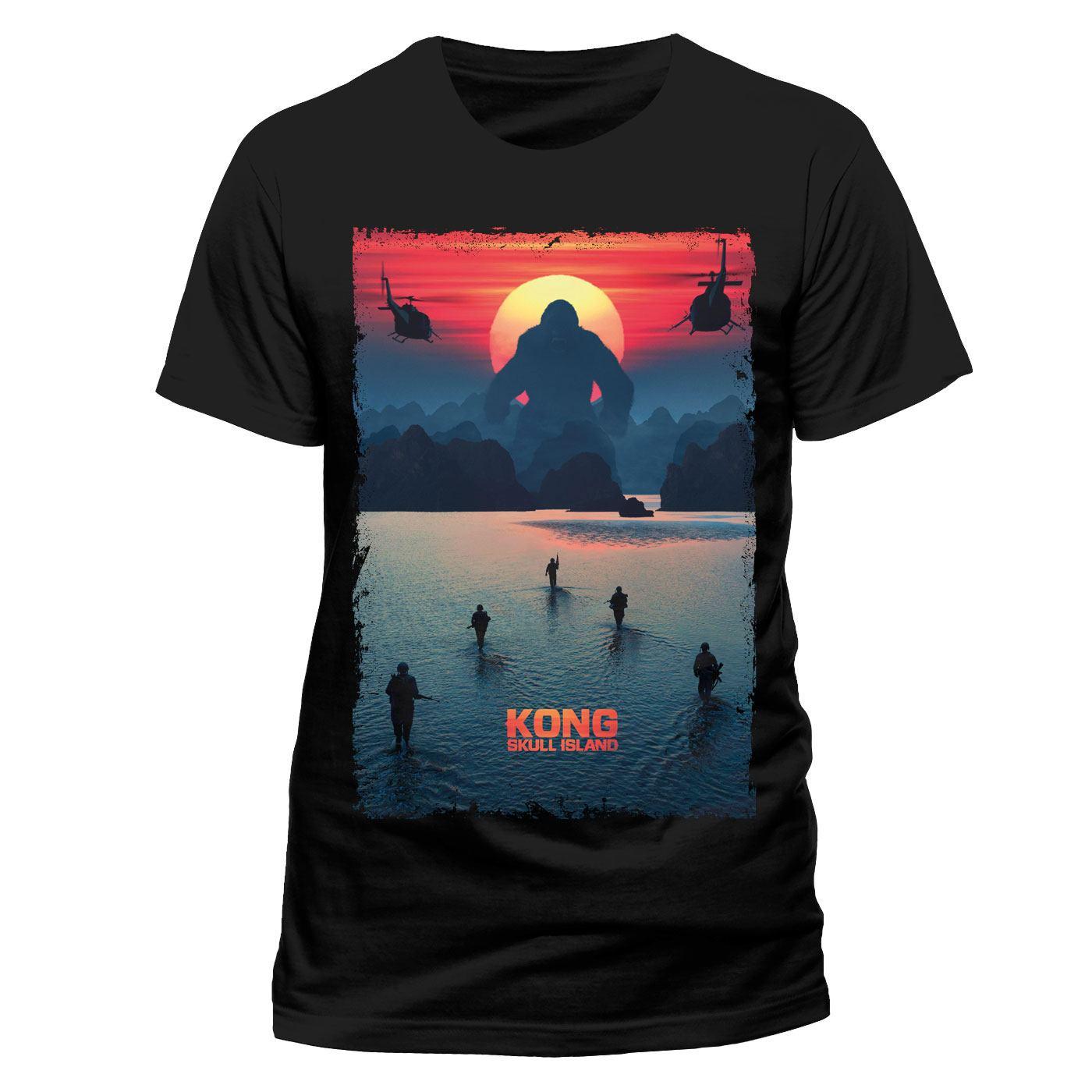 Kong Skull Island T-Shirt Poster Size XXL