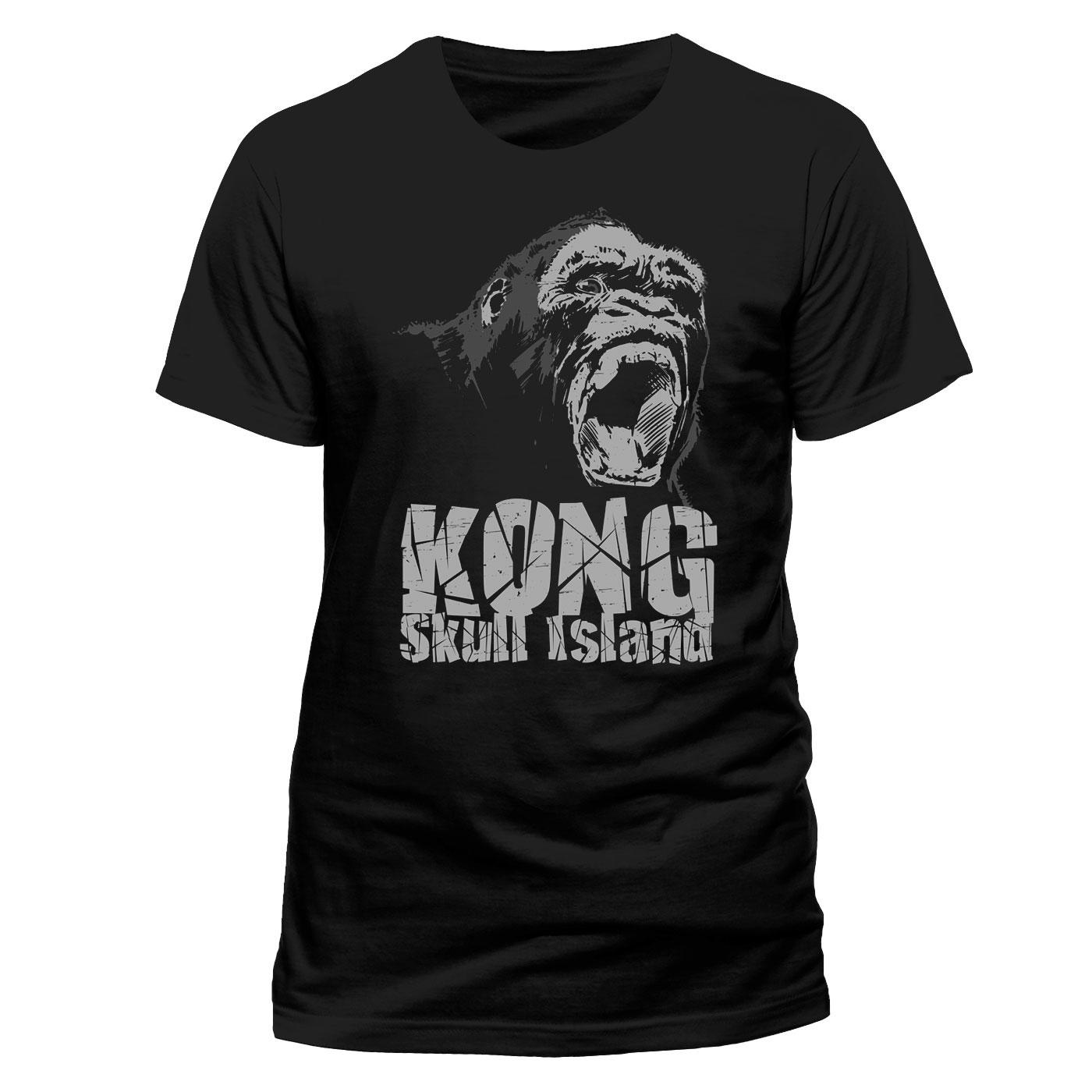 Kong Skull Island T-Shirt Roar Size XXL
