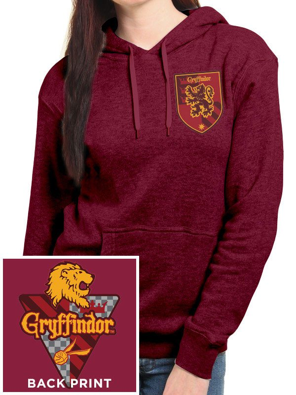 Harry Potter Ladies Hooded Sweater House Gryffindor Size M