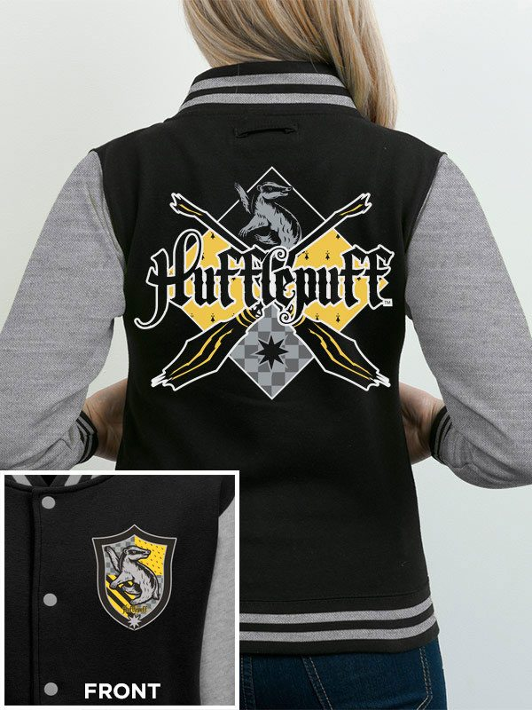 Harry Potter Varsity Jacket Hufflepuff Size L
