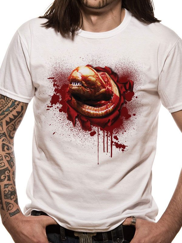 Aliens T-Shirt Chestburster  Size XXL