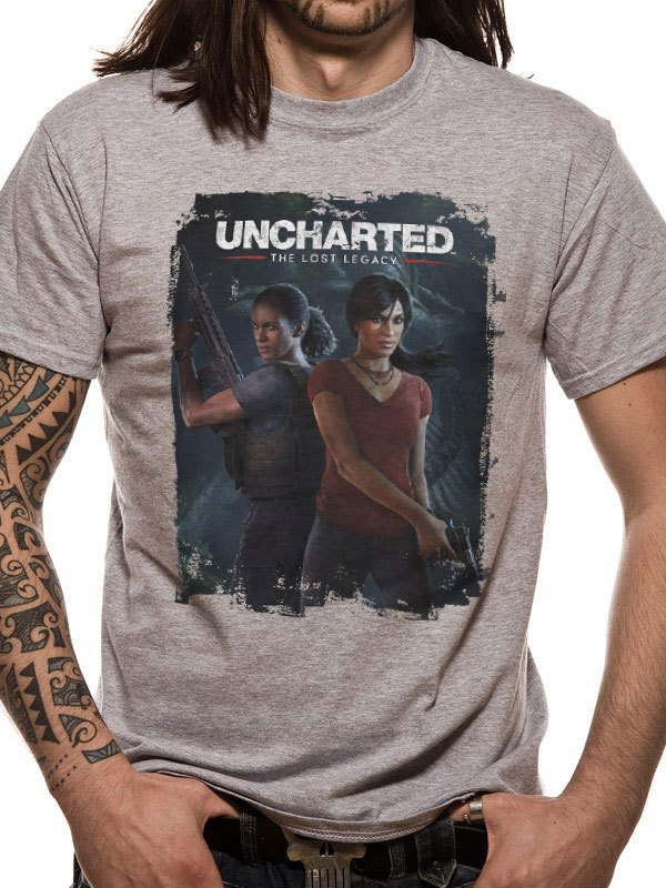 Uncharted T-Shirt Lost Legacy Size XL