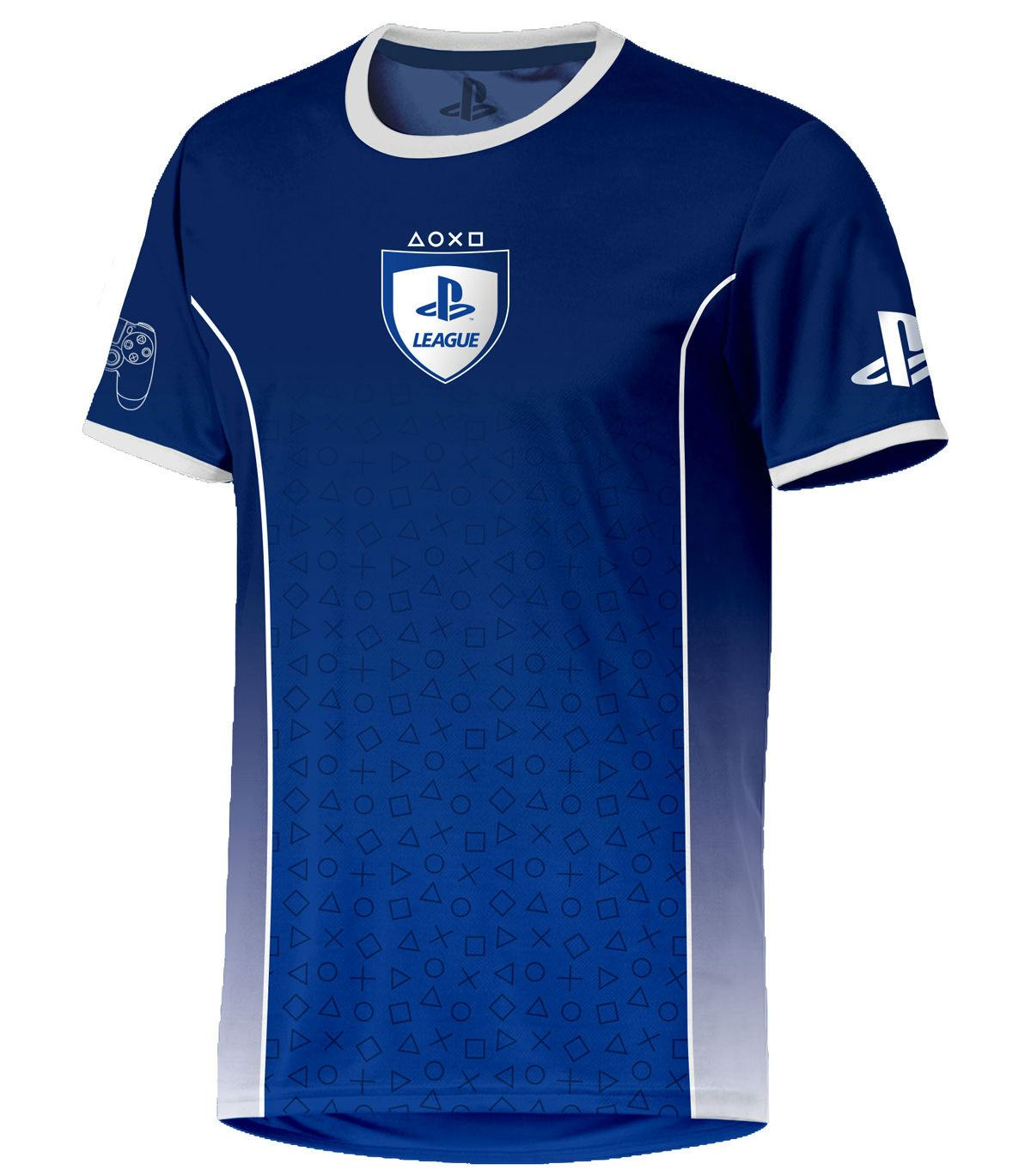 PlayStation eSport Gear Functional T-Shirt Symbol Fade Size S