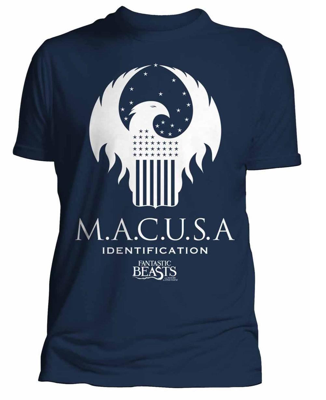 Fantastic Beasts T-Shirt Macusa Size M