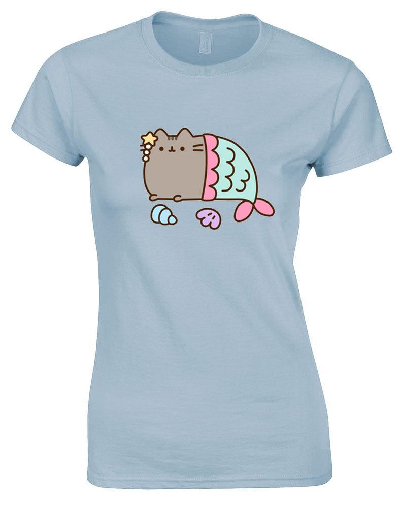 Pusheen Ladies T-Shirt Mercat Size M