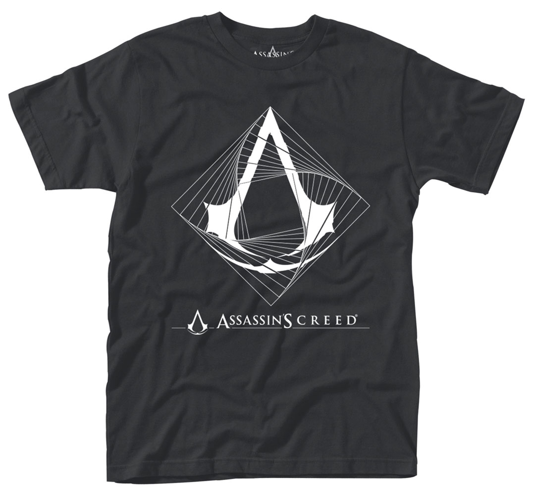 Assassin's Creed T-Shirt Spiral Size M