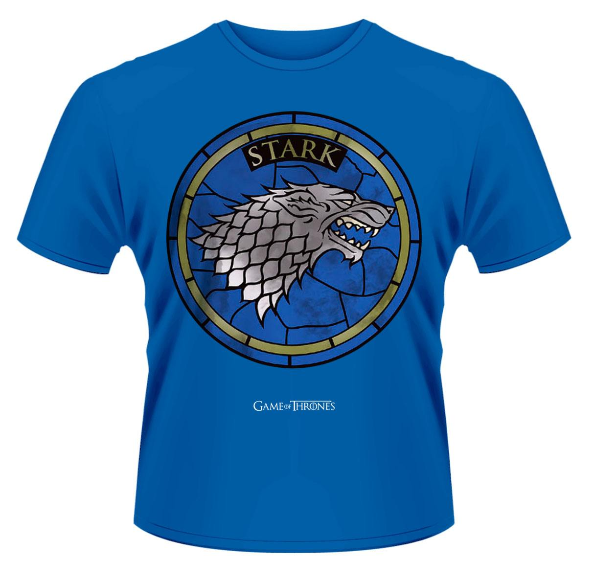Game of Thrones T-Shirt House Stark blue Size L