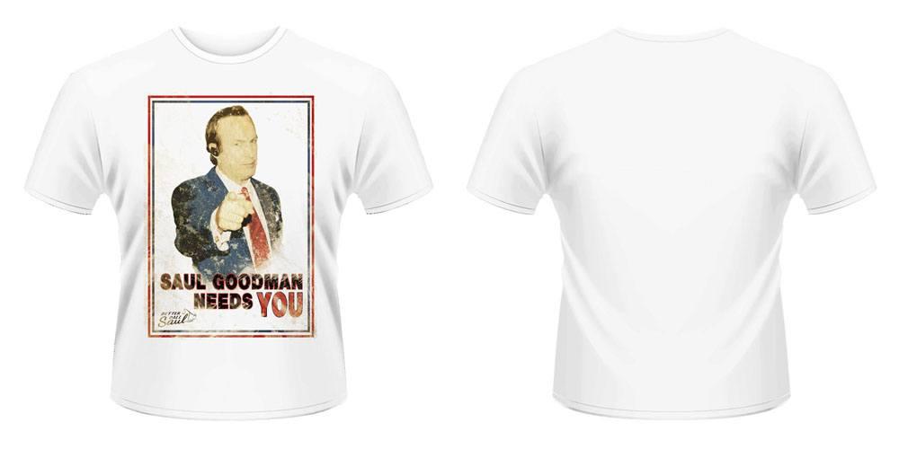 Better Call Saul T-Shirt Saul Needs You Size XL