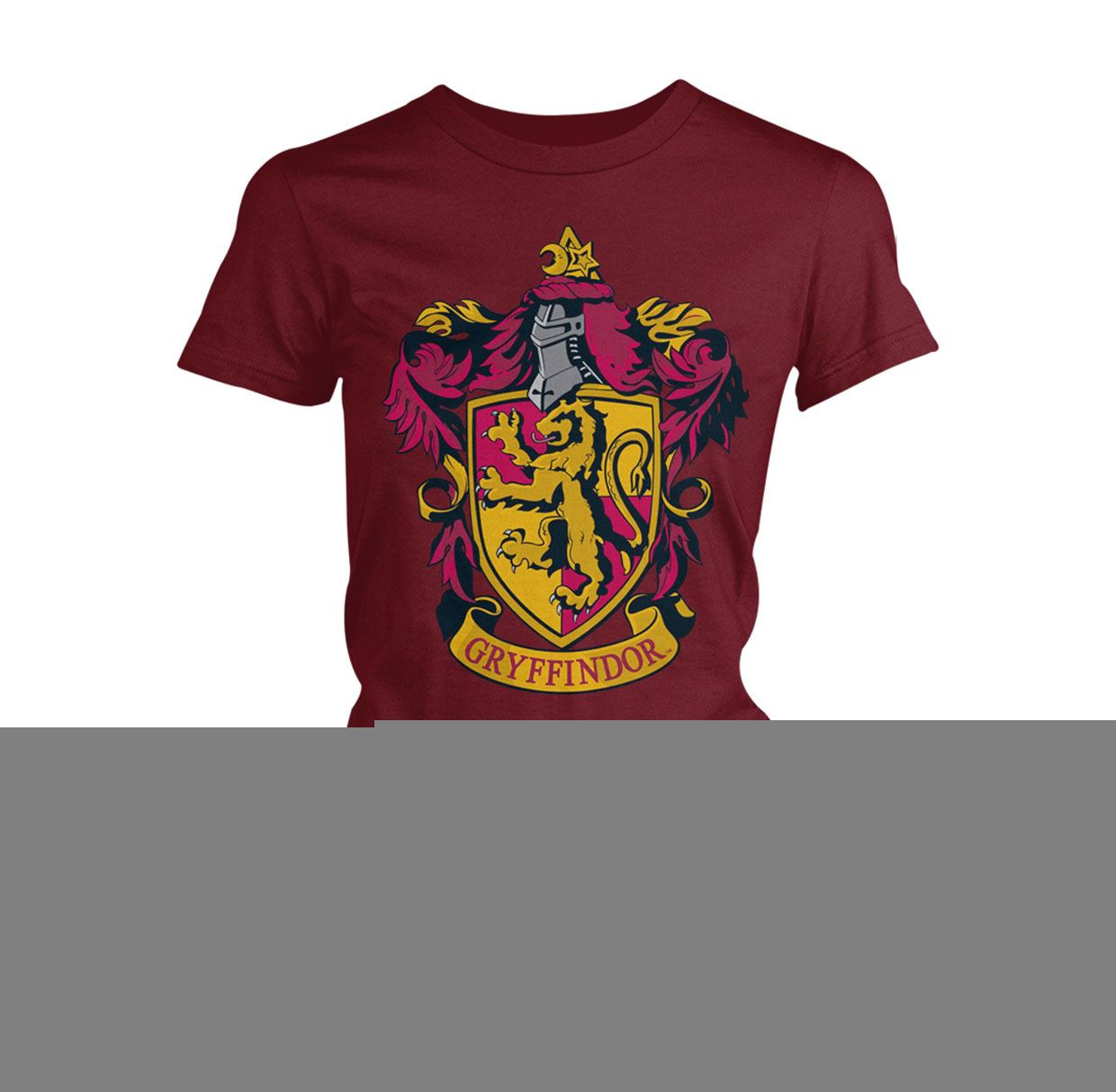 Harry Potter Ladies T-Shirt Gryffindor Size XL